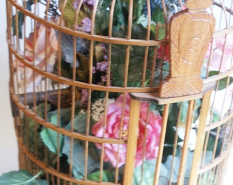 Extra Large Wooden Birdcage. Mary Macdonald Interiors. Classic Interiors.