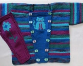 Switchover Sweater for babies and toddlers - KNITTING PATTERN -  pdf file by automatic download