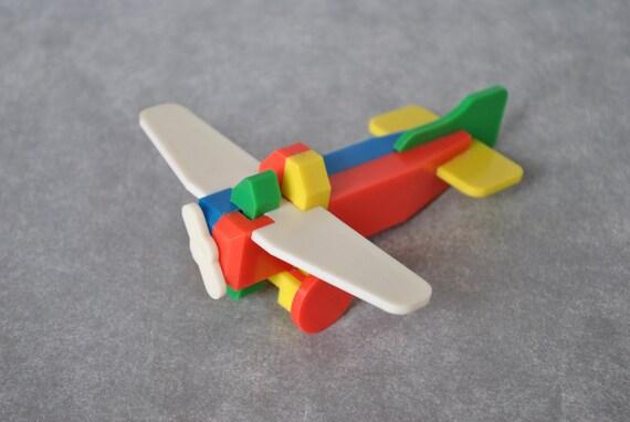 Vintage Plastic Airplane 4