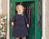 Softsculpture dolls house doll - Gaynor