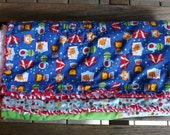 Bright Circus Baby Boy Quilt