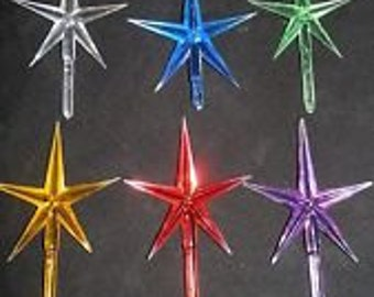 Ceramic Christmas Tree Star topper light lights