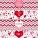 INSTANT DOWNLOAD, Valentine Water Bottle Labels, Water Bottle Labels Red, Party Favors Valentine, Red Hearts, Valentine Labels, Napkin Rings