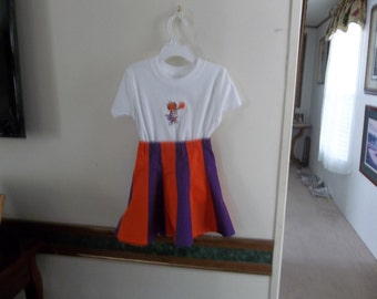CLEMSON CHEERLEADING OUTFIT to cheer their team to victory