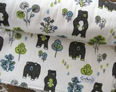 Honey Bear Baby Blanket - Chenille or Minky - Baby Boy