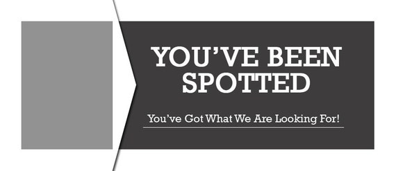 Youve Been Spotted Card Design