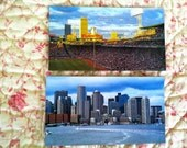 Choice of 1 magnet, Fenway Park, Boston sky line from the Harbor