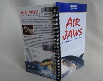 Air Jaws VHS Tape Box Notebook