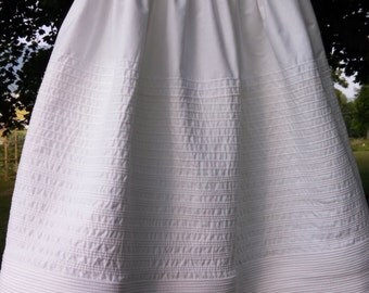 Corded Petticoat with combination of large cords and soft small cords CUSTOM