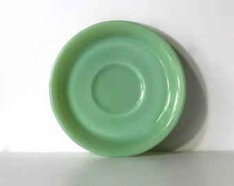 Vintage Jadeite FireKing Restaurant ware saucer G295