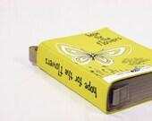 Yellow Felt Book Bag