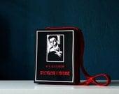 Dostoevsky Felt Book Bag Crime and Punishment