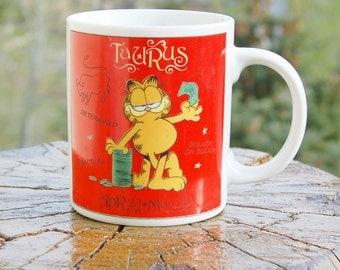 Garfield Taurus Mug Zodiac