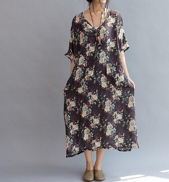 summer romantic Loose fitting Long dress/ fashion Women maxi dress