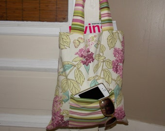 Cloth Tote. Market Bag.