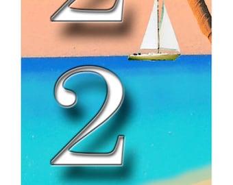 Verticle sailboat
