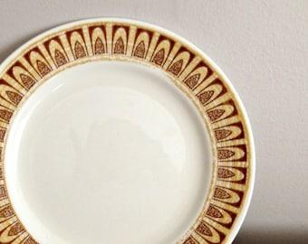 Shenango Interpace Amberstone Plates Salad Dessert Plates