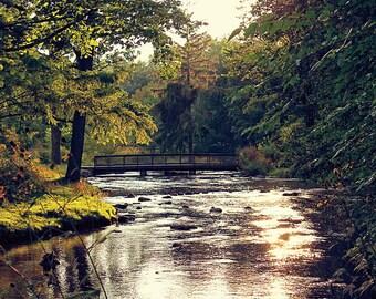 Sunset on the Creek - Michigan Fine Art Photography - Kalamazoo Fine Art Photography