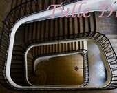 Winding Staircase Image from apartment in Castle (various sizes and stationary available)