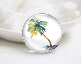 10mm 12mm 14mm 16mm 18mm 20mm 25mm 30mm Handmade Round Photo Glass Cabochons Cover-Tree (P1261)