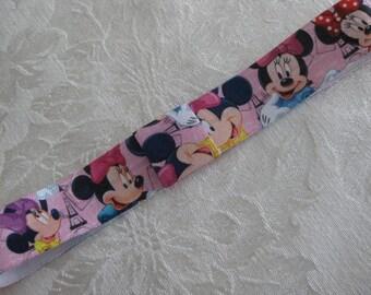Minnie Mouse FOE headband. Printed headband your choice size Fits newborn to adult