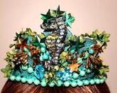 Seahorse Crown - Mermaid costume - Halloween -