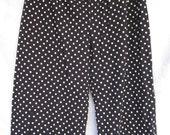 Handmade Womens Pajama Pants. Sleepwear,cotton polka-dot