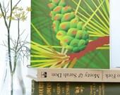 Pinecone Woodland Birthday Card - blank