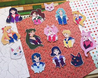 Sailor Moon Sticker Pack - Small