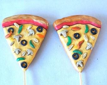 Pizza Slices in Love