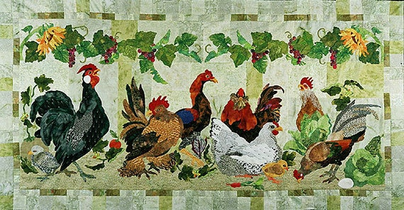 Garden Party Maggie Walker Applique Patterns