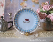Titanic Wisteria First Class Dollhouse Miniature Plate