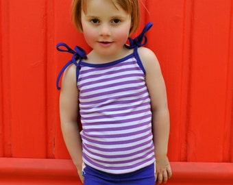 Tank Tops Pattern pdf sewing pattern girls sizes 2-14 years