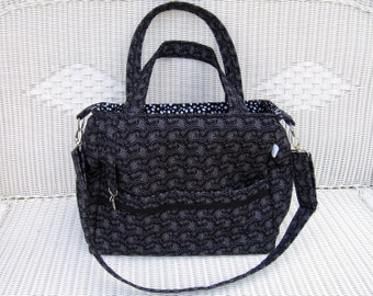Asher CUSTOM Diaper Bag and Changing Pad