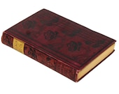 Antique Book / Black Rock / Red Book / Rose Book / Red and Black Book / Fictional Book / Ralph Connor / Federal Book Co / 1800s Book