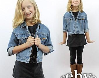 Kids jean jacket | Etsy