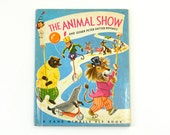 The Animal Show, Vintage 1960s Tip Top Elf Children's Rhyme Book