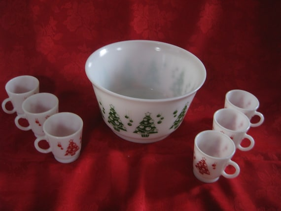 Halloween Punch Bowl Set