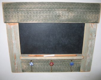Reclaimed Wood Chalk Board - Green