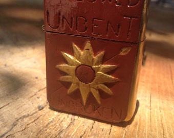 Hand-Carved wind-proof Lighter of House Martell