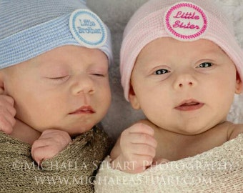 Popular items for boy girl twin hats on Etsy
