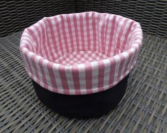 Reversible Bread Basket / Dinner Roll Holder / Storage basket