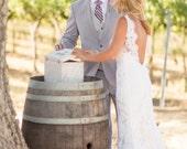 Wedding Wine Box for Wine Cermony