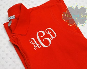 Ladie's Monogrammed Polo Shirt