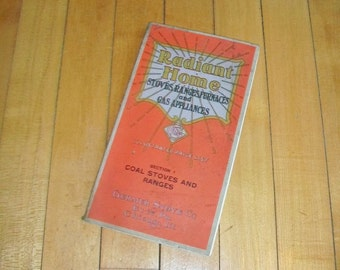 1920s Stove Catalog Radiant Home Coal Stoves and Ranges