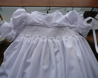 The.....Eternal Love Christening Gown  W/Bonnet. and Slip......By The My Collection 2