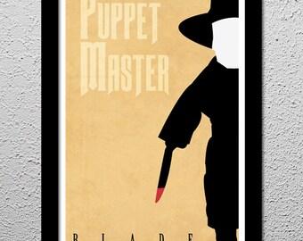 Puppet Master - Blade - Original Art Print - Poster - 13x19