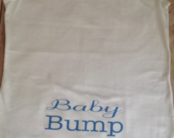 Baby Bump Tank Top - Custmo text colors