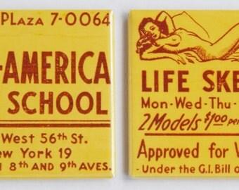 Art School Fridge Magnet Set