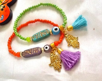 SALE---- EGYPTIAN QUEEN Bohemian bracelet- Ethnic jewelry-Gypsy Jewelry